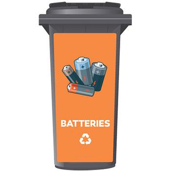Контейнер для использованных батареек, 60/80/120 л.