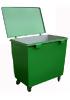 Металлический контейнер для мусора 0,8 м3