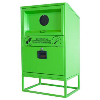 Контейнер для сбора ламп компактных и термометров ртутных V10 580x400x1000