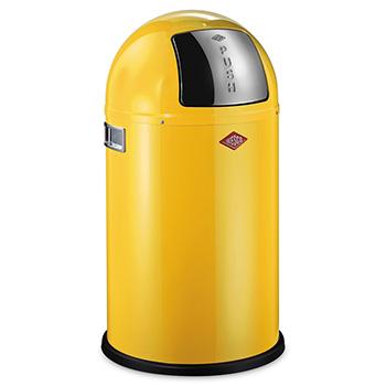 Урна-ведро для медотходов с заслонкой WESCO 22л. желтый
