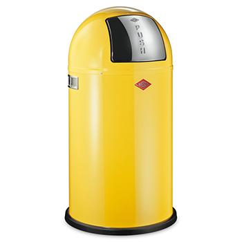 Урна-ведро для медотходов с заслонкой WESCO 50л. желтый