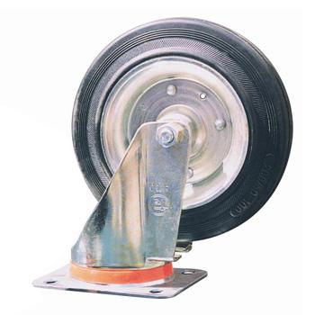 Колесо поворотное для контейнера 1100 л. или 1,1м3, d=200 мм