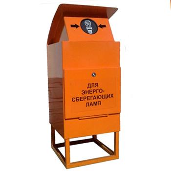 Контейнер для ртутьсодержащих люминесцентных ртутных ламп 1EL1 400x400x1000