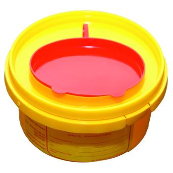 Емкости для использованных батареек 0,5 л.