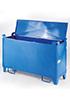 Контейнер для отработанных люминесцентных ламп с верхней крышкой 1600x500x800