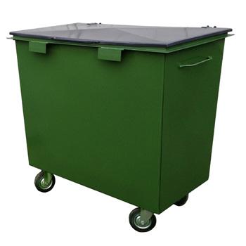 Стальной контейнер 0,8м3