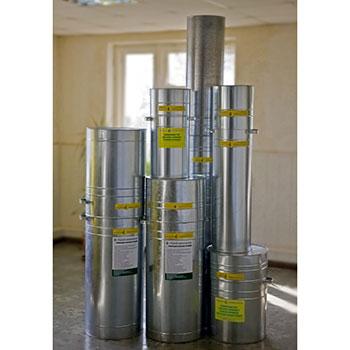 Тара (контейнеры) для ламп (металл)