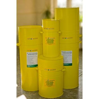 Тара (контейнер) для медицинских отходов класса «Б» (желтый)