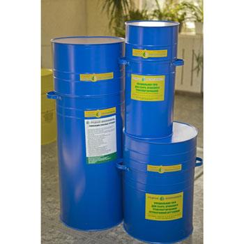 Тара (контейнеры) для оргтехники (синий)