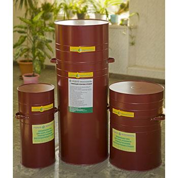 Тара (контейнеры) для нефтесодержащих отходов (красный)