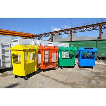 Контейнеры под раздельный сбор мусора