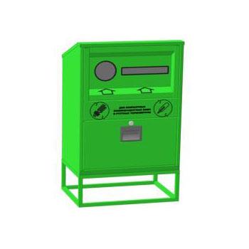Контейнер для сбора ламп люминесцентных и термометров бытовых, V11 580x400x1000