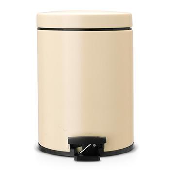 Бак для мусора с педалью для медицинских отходов Brabantia 5л. бледно-желтый