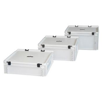 Пластиковый ящик для батареек 400х300х120
