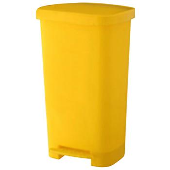 Педальный контейнер для сбора медицинских отходов 50л