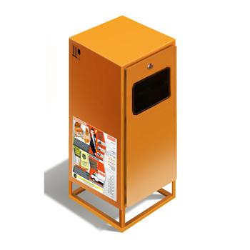 Контейнер КРЛ СПАК1 для сбора стекла, картона-бумаги, алюминия, пластика