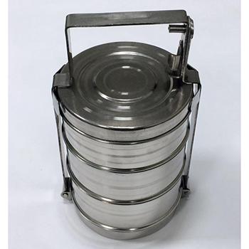 Герметичный контейнер для ртутьсодержащих термометров из нержавеющей стали 2,5л.