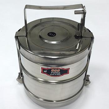 Герметичный контейнер для ртутьсодержащих термометров из нержавеющей стали 1,7л.