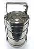 Герметичный контейнер для ртутьсодержащих термометров из нержавеющей стали 2,1л.