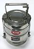 Герметичный контейнер для ртутьсодержащих термометров из нержавеющей стали 1л.