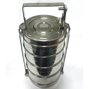 Герметичный контейнер для ртутьсодержащих термометров из нержавеющей стали 3,4л.