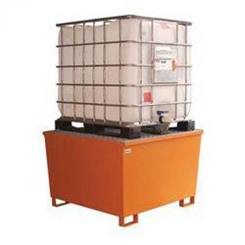 Контейнер под еврокуб (кубическая емкость пластиковая 1100л.)