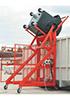 Опрокидыватель для пластиковых и металлических евроконтейнеров 660, 770 и 1100 л.