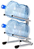 Стеллаж-стойка для бутылей с водой на 19л., СТЭЛЛА-2
