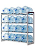 Стеллаж-стойка для бутылей с водой на 19л., СТЭЛЛА-16