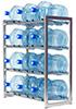 Стеллаж-стойка для бутылей с водой на 19л., СТЭЛЛА-12