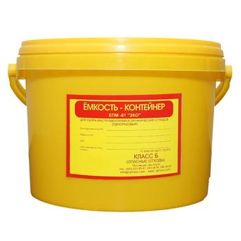 Емкость для сбора органических отходов 12,0л