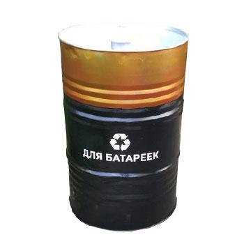 Металлическая урна для сбора бытовых батареек