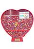 Контейнер для сбора пластиковых крышечек от бутылок (сердце)