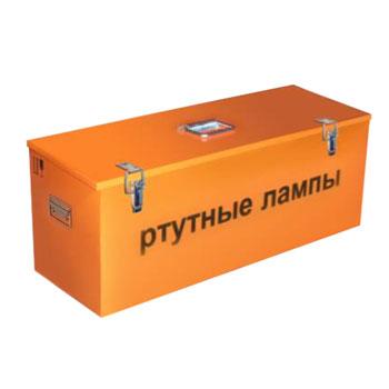 Герметичный контейнер для ртутных из солярия ламп КРЛ-СГ-3-120 2100x510x430