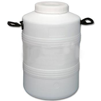 Пластиковый бидон пищевой с резьбовой крышкой 50л., ББП50-2