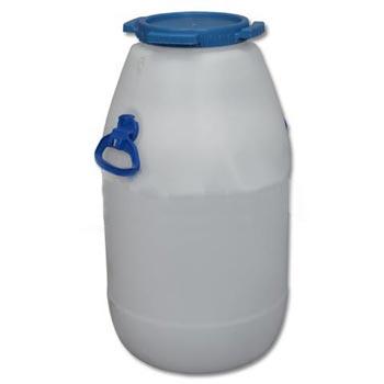 Пластиковый бидон пищевой с резьбовой крышкой 60л., ББП60п