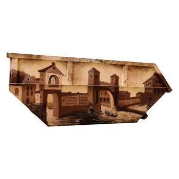 Эксклюзивный дизайн бункера для мусора