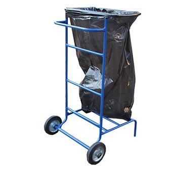 Тележка под мусорный мешок (колеса оцинкованные, обрезиненные, подшипник)
