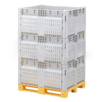 Разборный контейнер KitBin ZF (перфорированный)
