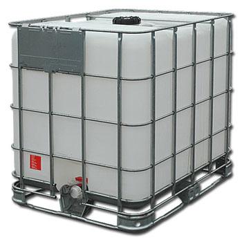 Емкость кубическая UC 1000 мп на металлическом поддоне