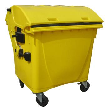 Контейнер для медицинских отходов 1100 литров (круглая крышка) внутрикорпусный