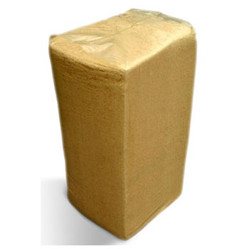 Стружка древесная, ГОСТ, камерной сушки, брикет 40 кг/140 л