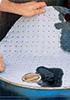 Гидрофобная сорбирующая салфетка на бочку