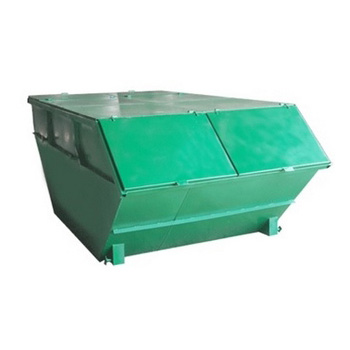 Бункер для мусора 8 куб.м. (стенки 2 мм, дно 3 мм) - закрытого типа