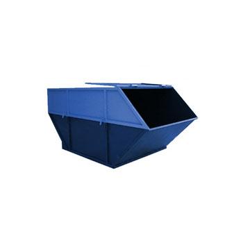 Бункер для мусора 8 куб.м. (стенки 3 мм, дно 3 мм) - закрытого типа