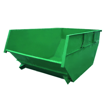 Бункер для мусора 8 куб.м. (стенки 2 мм, дно 2 мм) - открытого типа
