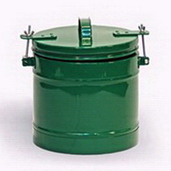 Герметичный контейнер для термометров из нержавеющей стали 6л