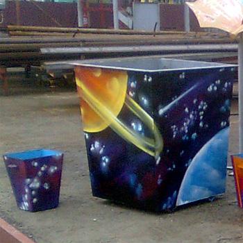 Эксклюзивное оформление комплектов урны и контейнеры