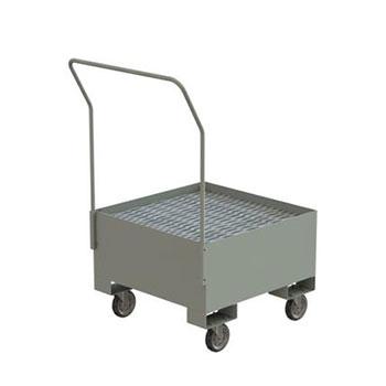 Поддон для хранения бочки ПДБК-01П на колесах 810x810 ПВЛ