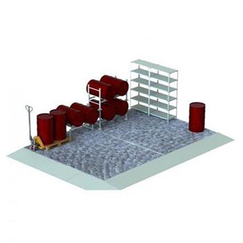 Экологический склад блок основной ПВЛ